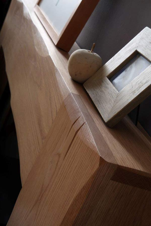 Albero Natural Oak Detail