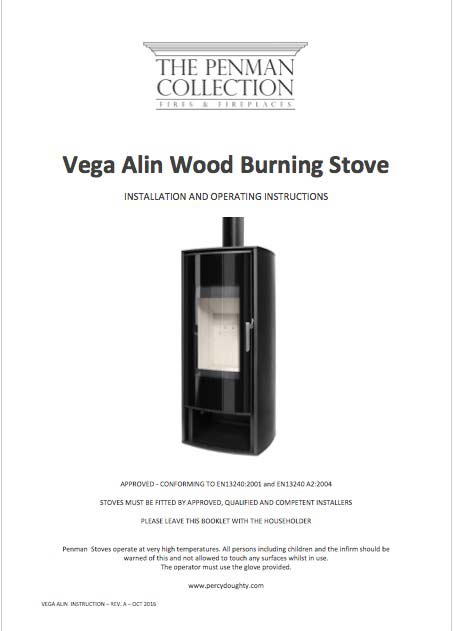 Vega Alin Stove Manual