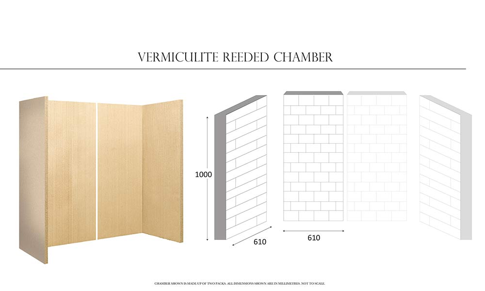 Vermiculite Reeded Chamber
