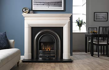 Click to view the High Efficiency Falkirk Cast Iron Insert