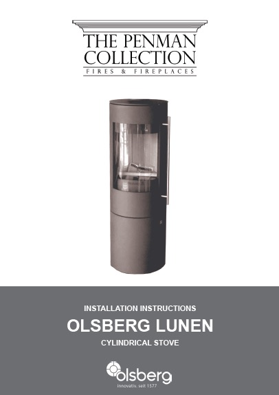 Olsberg Lunan Stove Manual